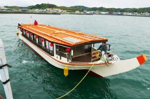 屋形船の外観画像