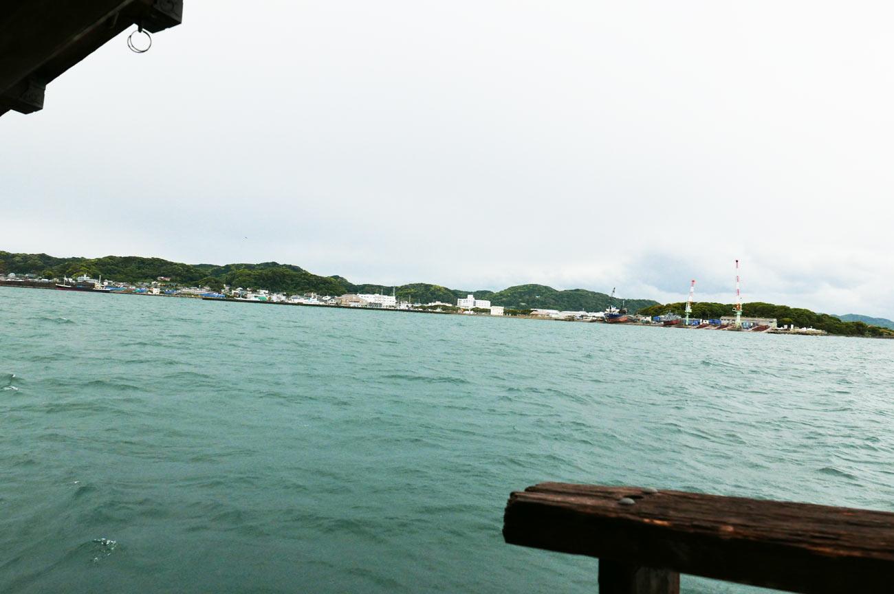館山湾の様子画像