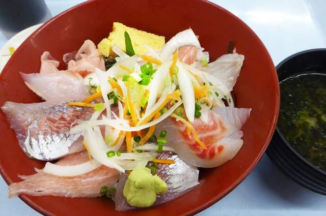 ばんや新館海鮮丼の画像
