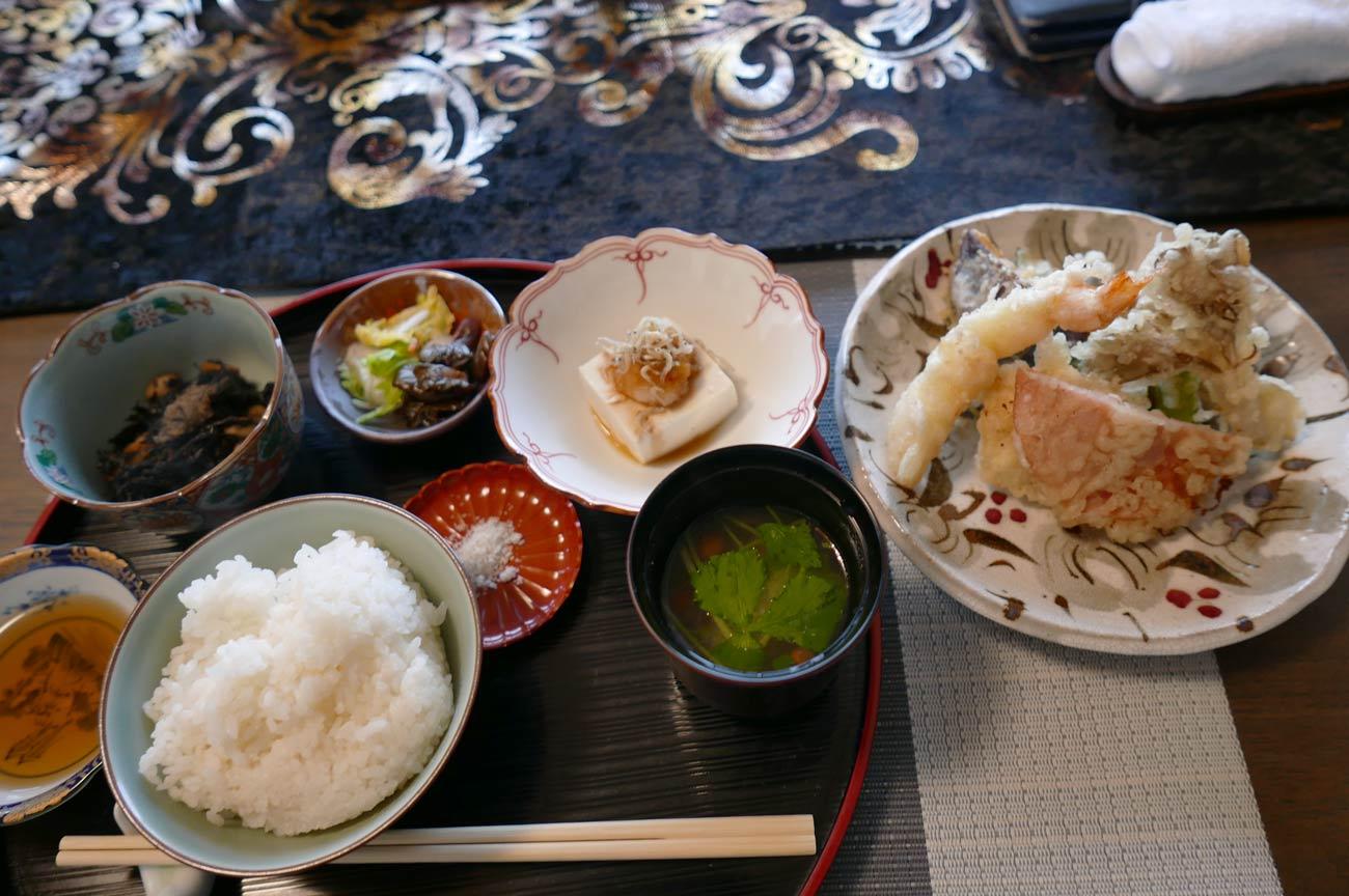 天ぷら御膳の画像