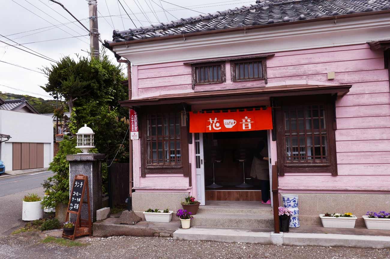 カフェ花音の入口