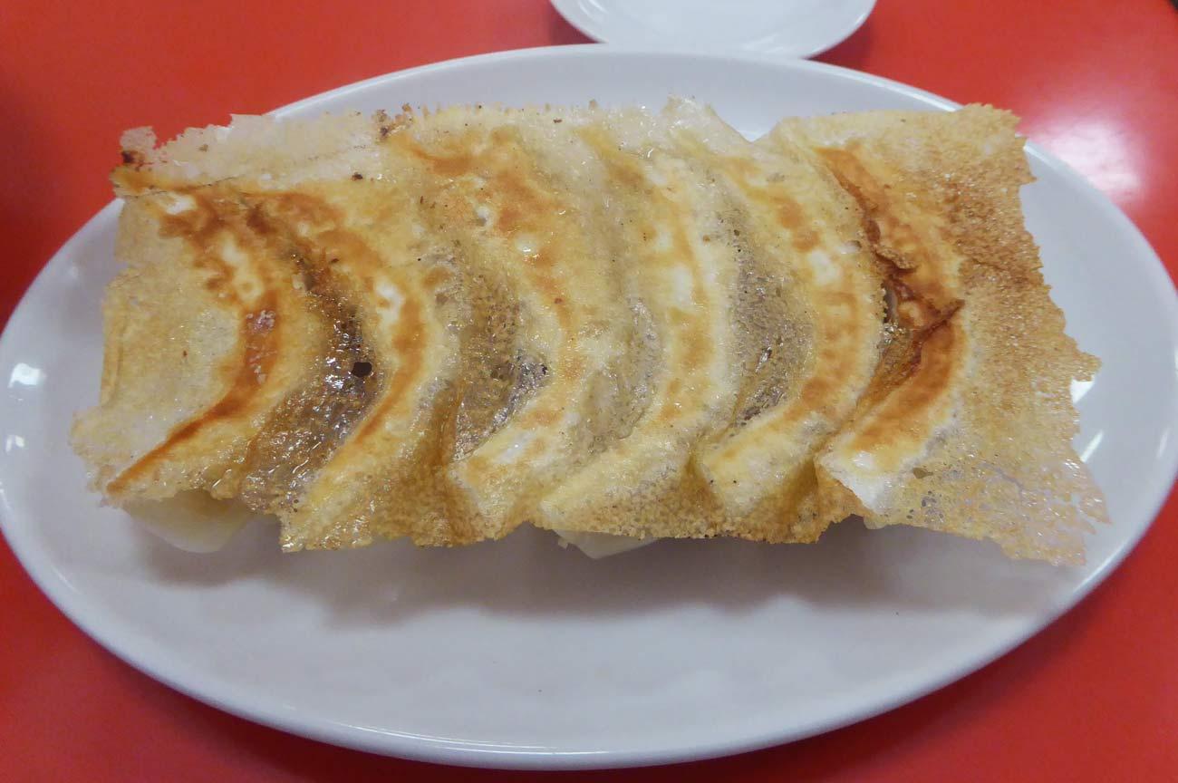 焼き餃子の画像