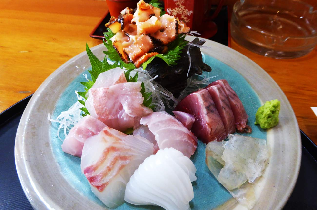 太田和の刺身定食の画像