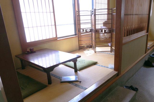 割烹太田和の小上がりの画像