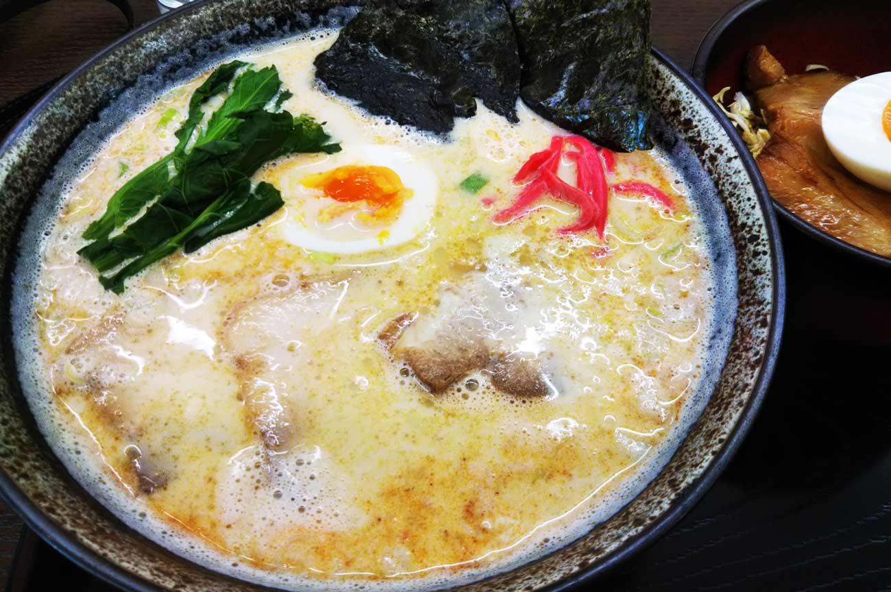 櫻花の豆乳ラーメンの画像