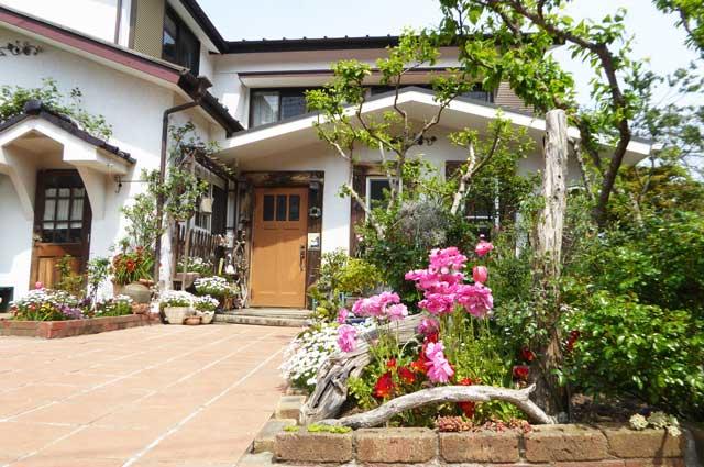 うさぎ亭の庭の画像