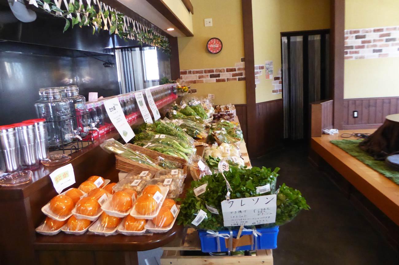 野菜直売コーナーの画像