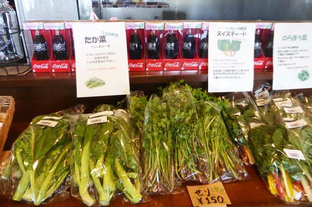 スイスチャード、のらぼう菜の画像