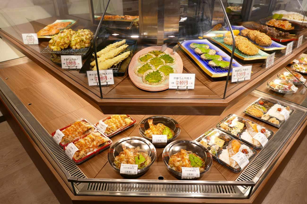惣菜コーナーの全景画像