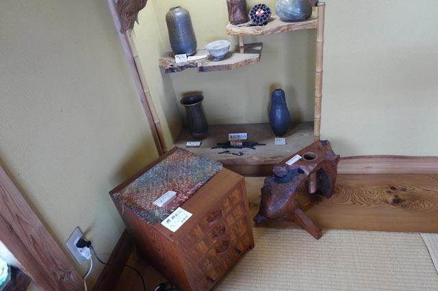 陶芸と手作り家具