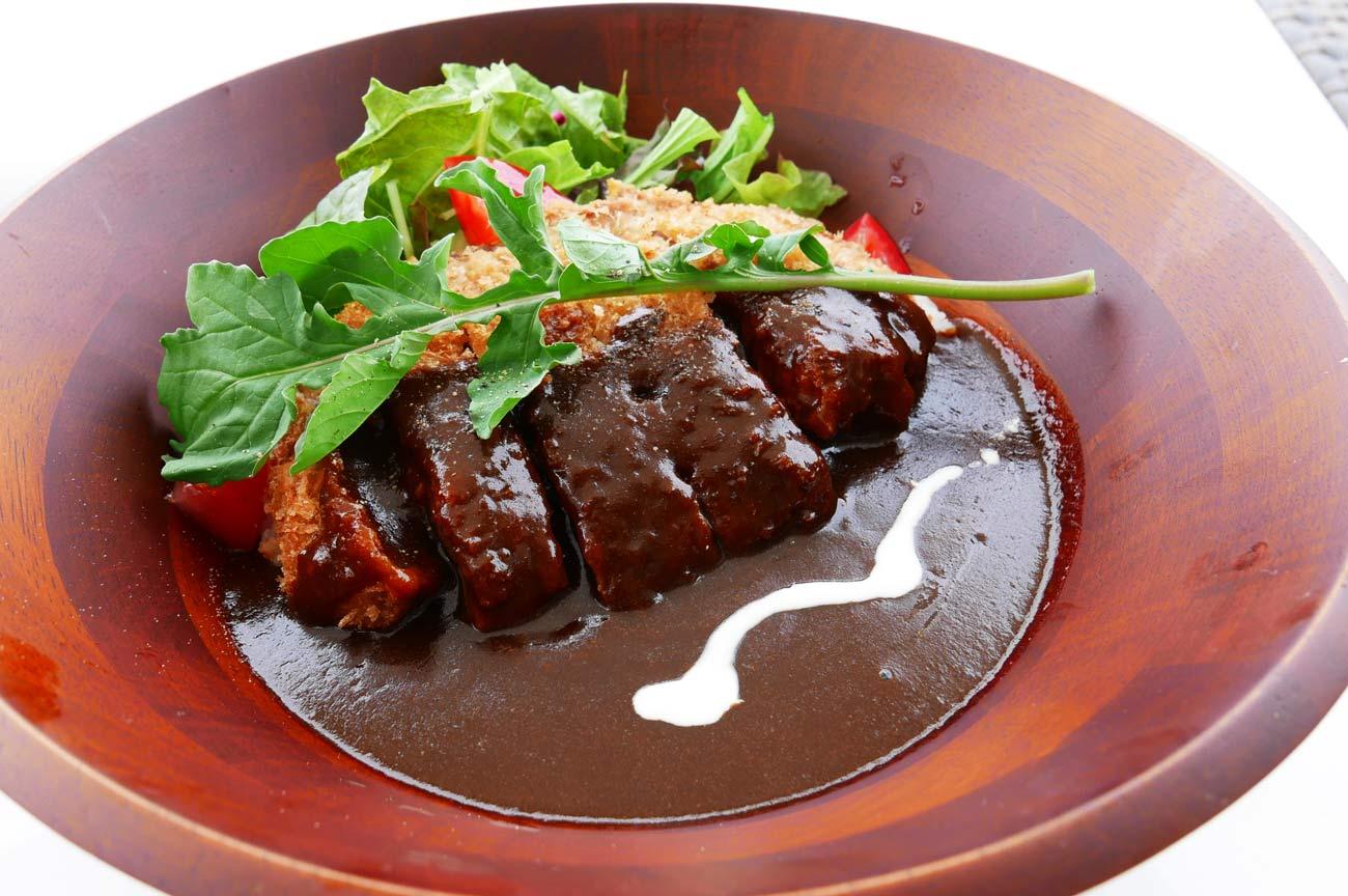 日本一の黒豚カツカレー