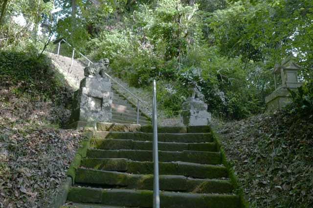 参道の石段のの画像2