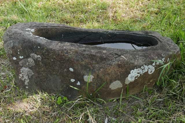 男金神社の手水石の画像3