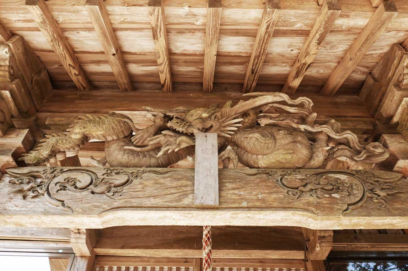 後藤喜三郎橘義信の彫刻の画像