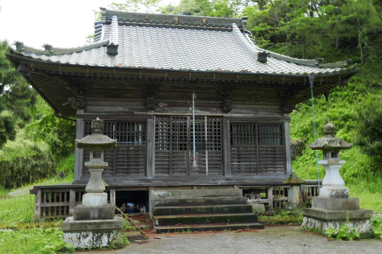 八幡神社拝殿の画像