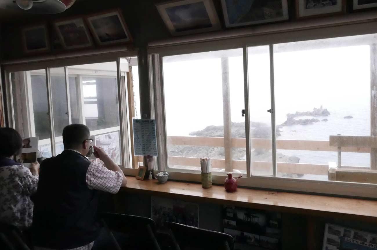 岬カフェからの眺め