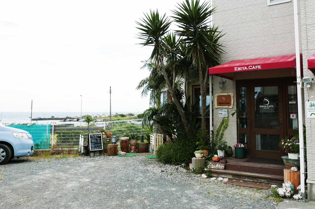 エビヤカフェの店舗外観画像