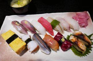 江戸銀の地魚寿司の画像