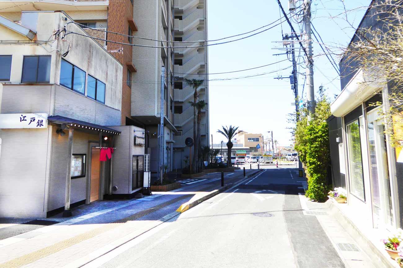 江戸銀の店舗外観