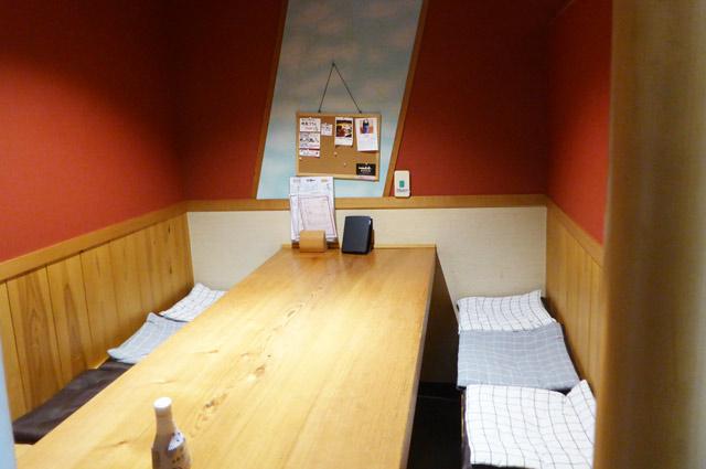 江戸銀の個室画像