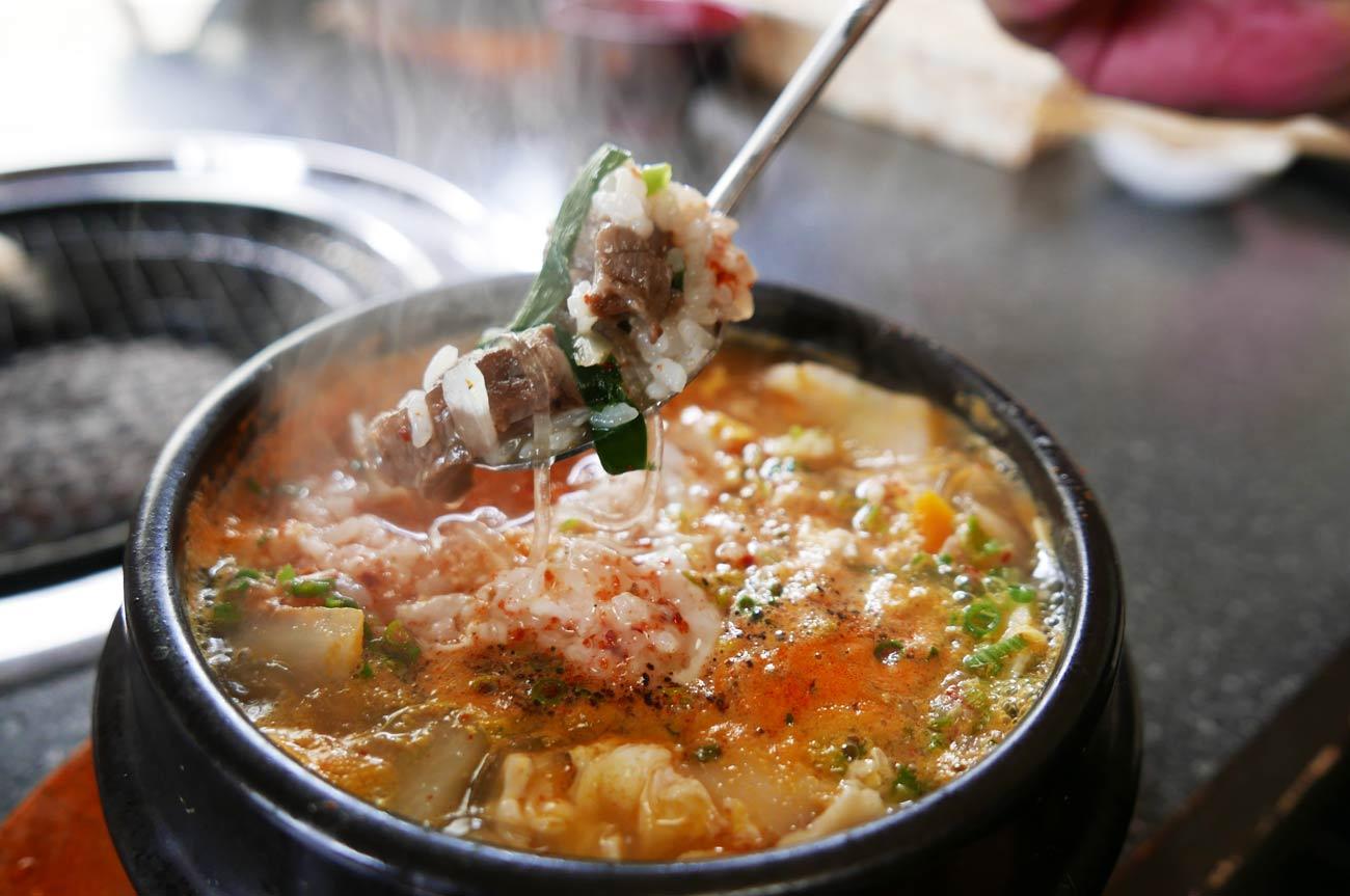 スン豆腐の画像
