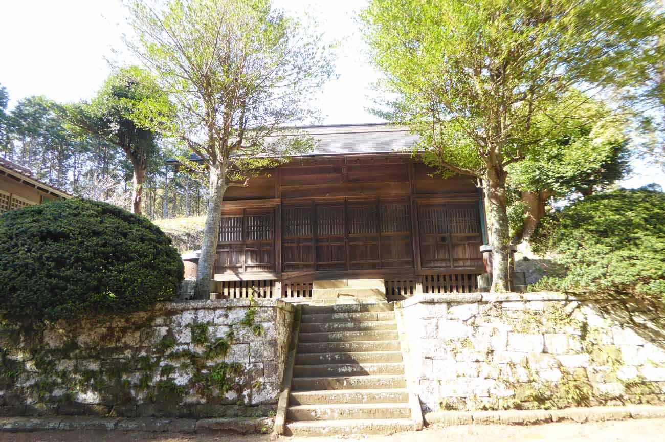 西原神社拝殿の画像