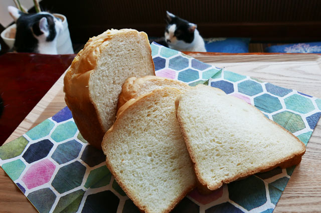 自家製ごはんパンのスライス