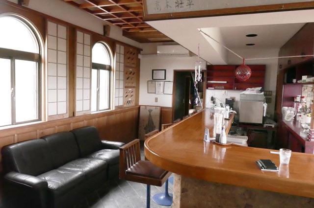 オラーガのカウンター席の画像