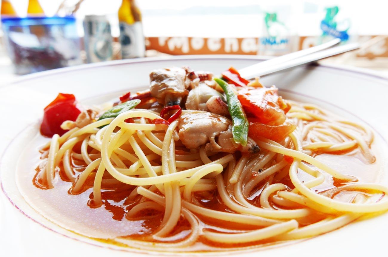 スパゲッティボンゴレのアップ画像