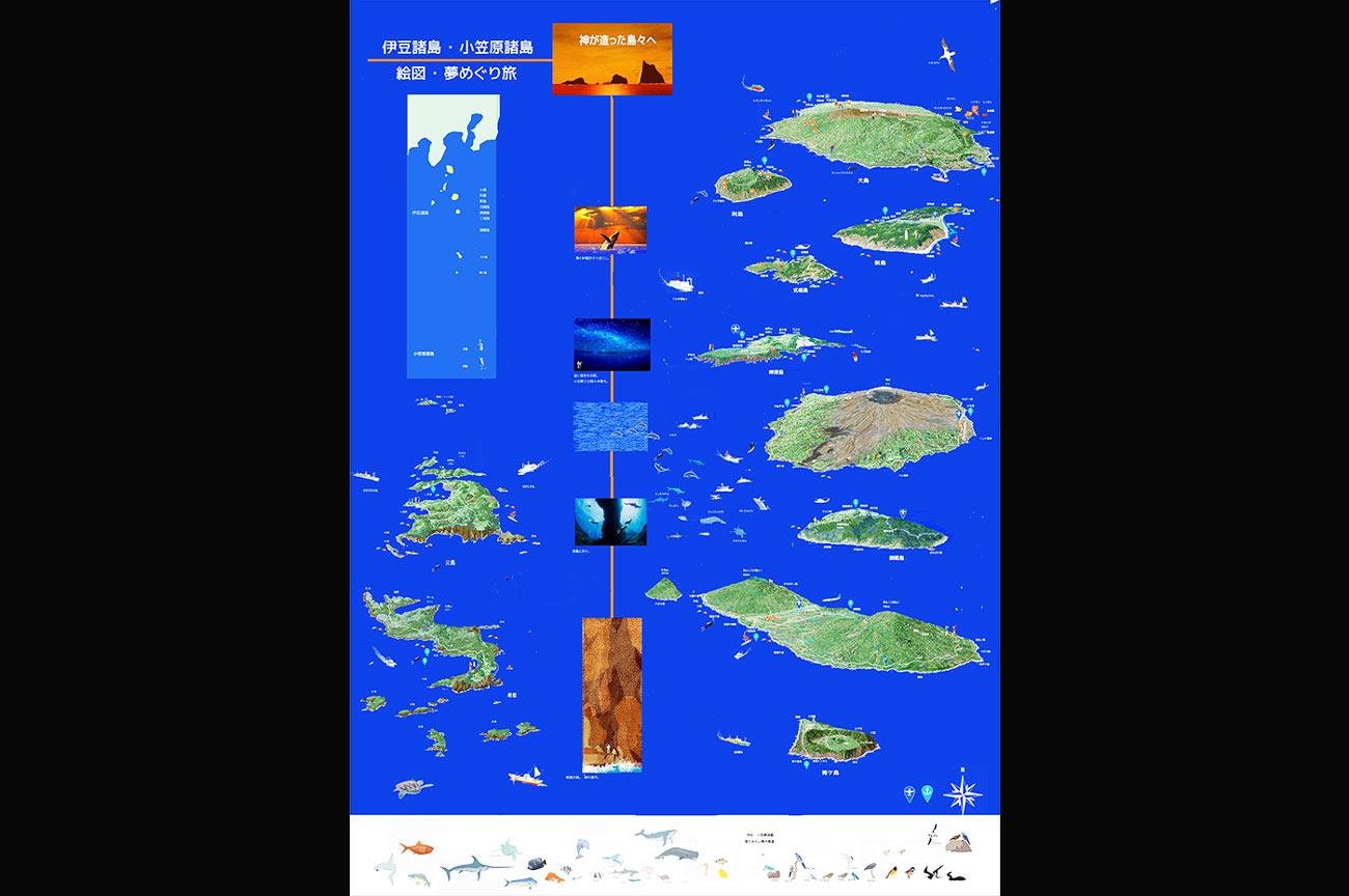 伊豆諸島土産絵図の案内