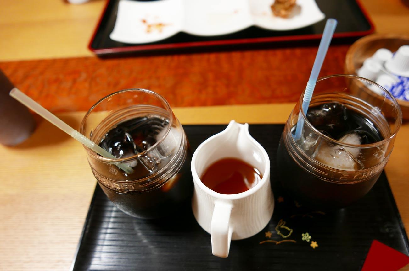 ランチのコーヒーの画像