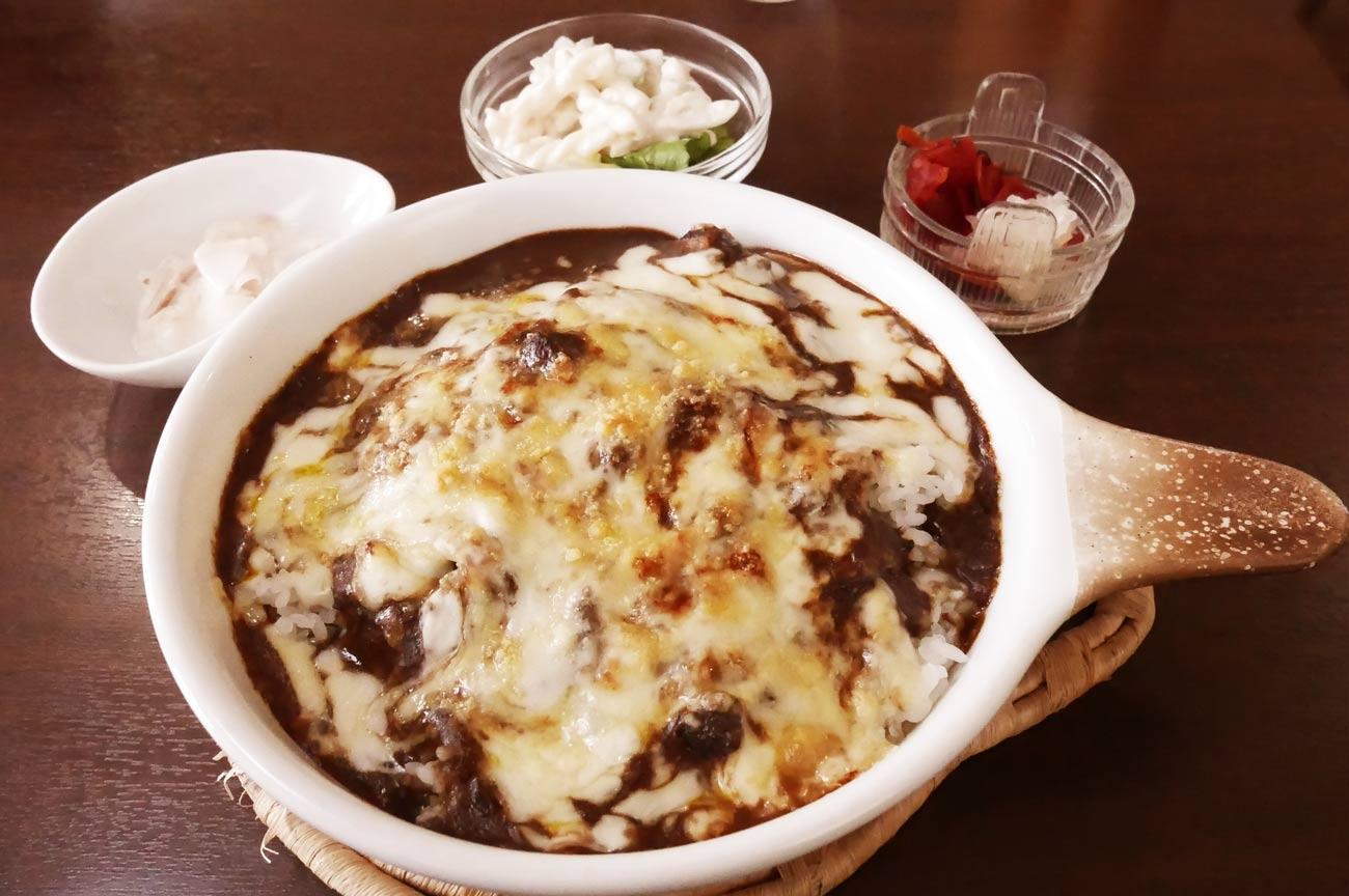 どんぐりのグラタン風チーズカレーの画像