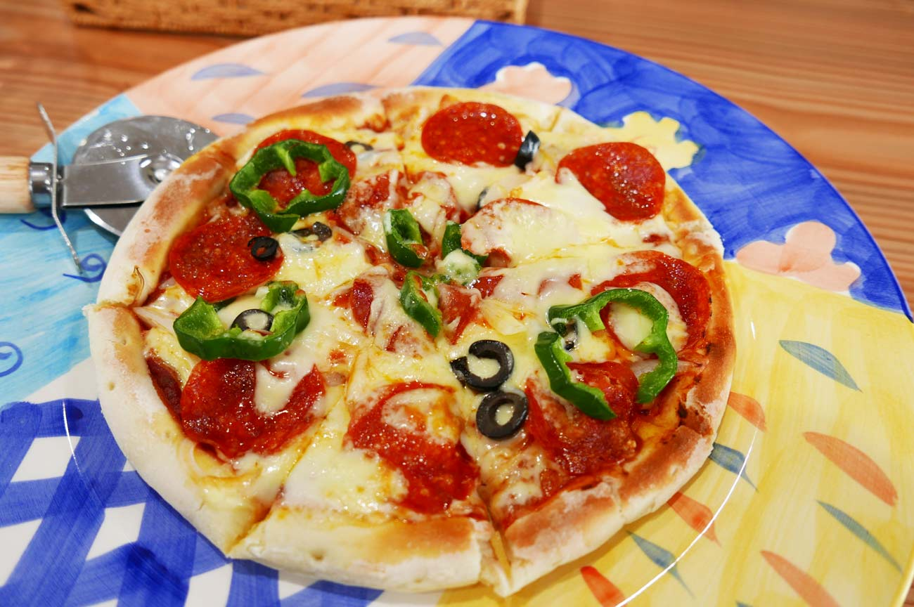 ピザ(サラミ)の画像