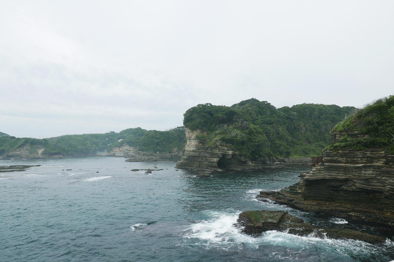 勝浦海域公園の風景3