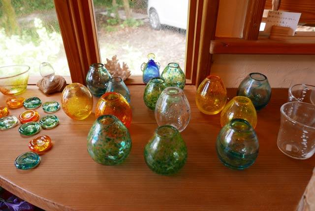 ガラス細工(花瓶)