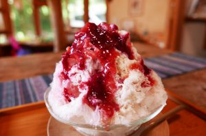 mixベリー練乳氷の画像