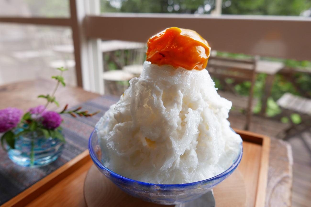ココナツ練乳withマンゴーアイスの画像