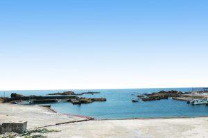 川下港の全景