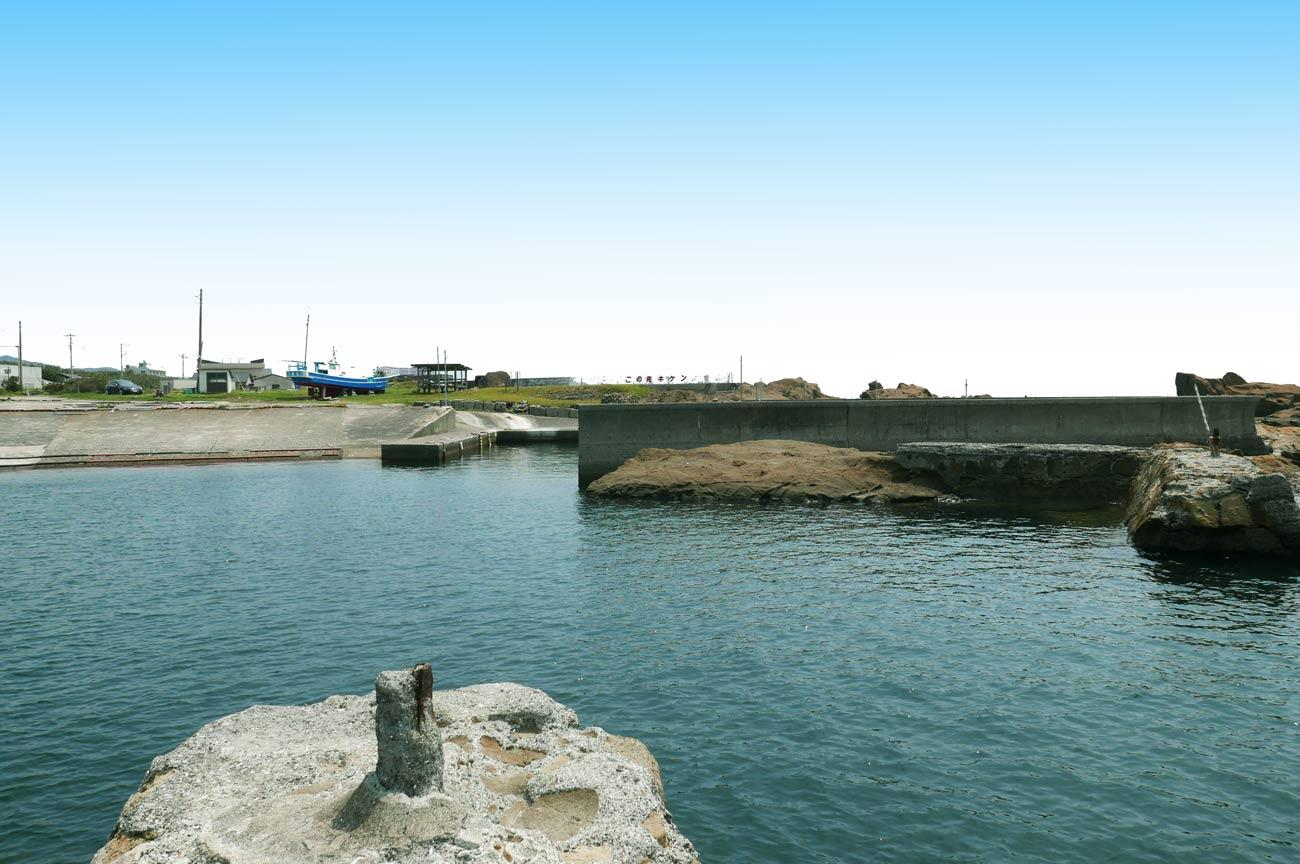 川下港の突堤付近のポイント2
