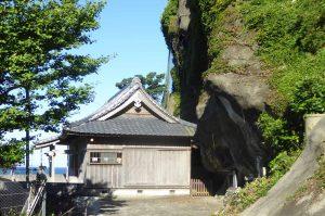 香指神社拝殿の画像