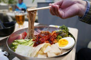 ニューコリアの冷麺の画像
