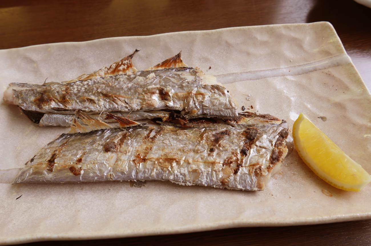 太刀魚の塩焼きの画像