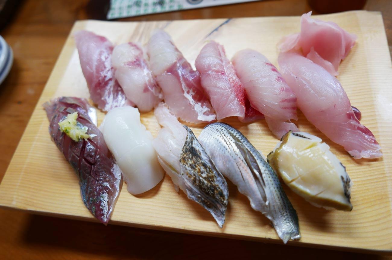 鮨和の地物寿司の画像