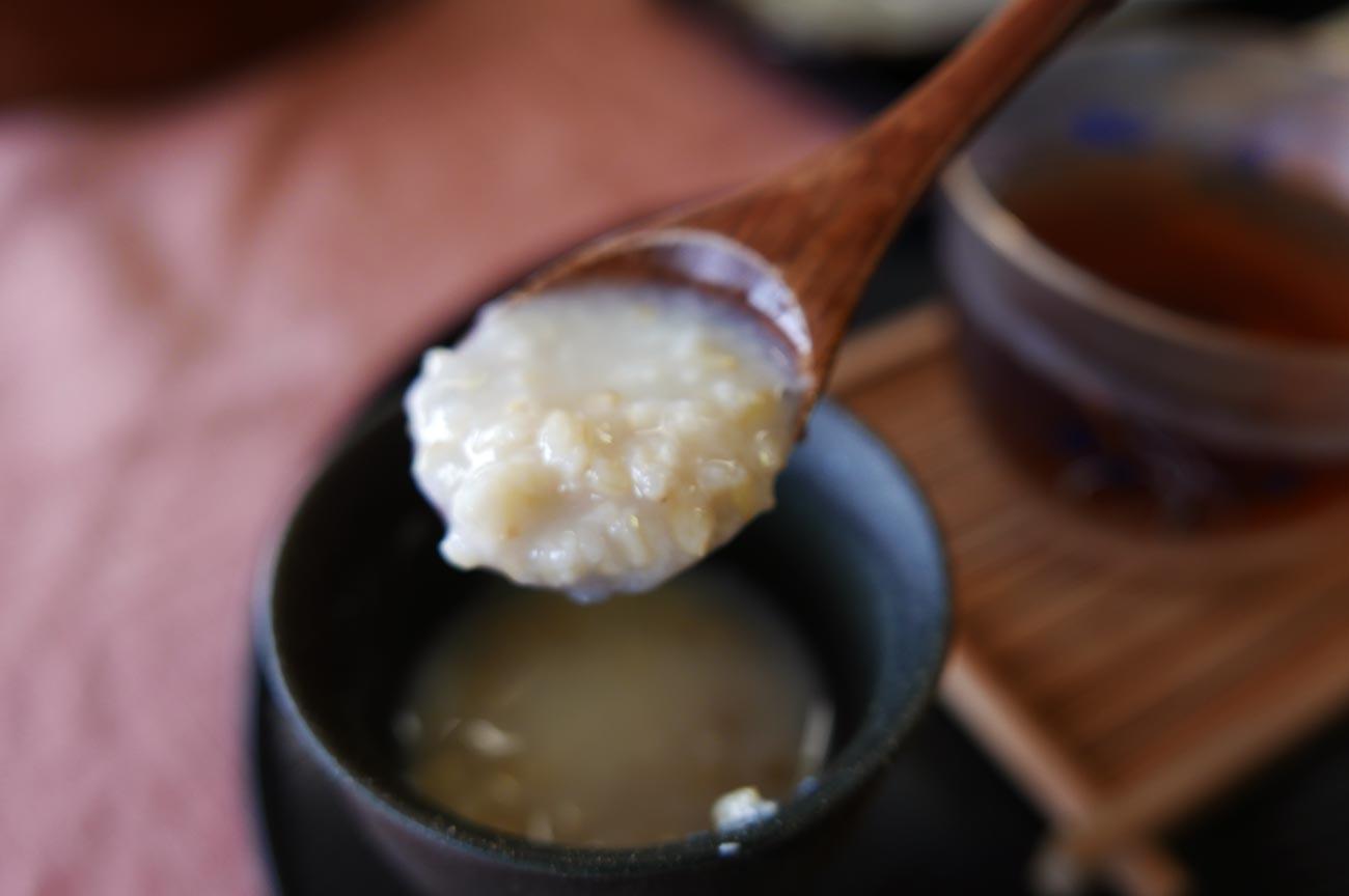 玄米甘酒のアップ画像