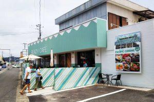 Beach Cafeの店舗外観