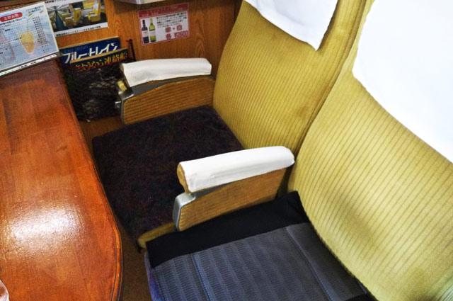 0系新幹線グリーン車-R25リクライニングシート