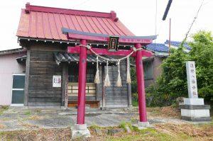 佐野八幡神社拝殿の画像