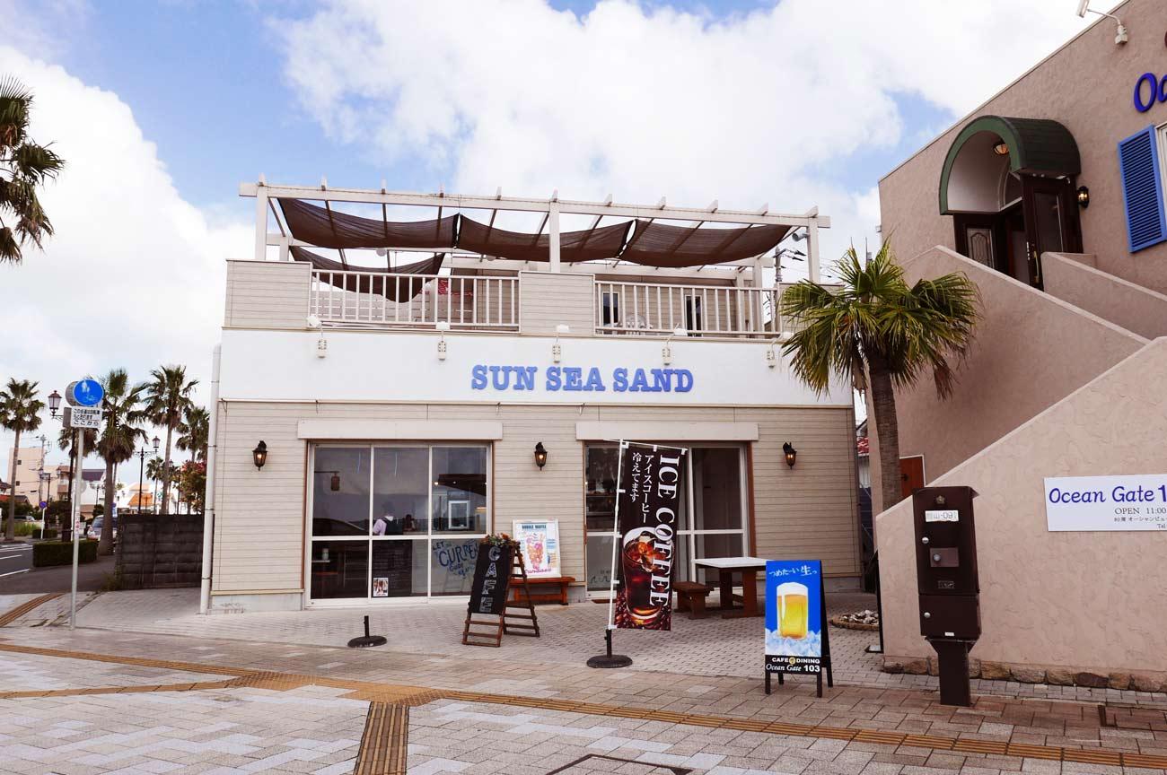 SUN SEA SANDの店舗外観画像