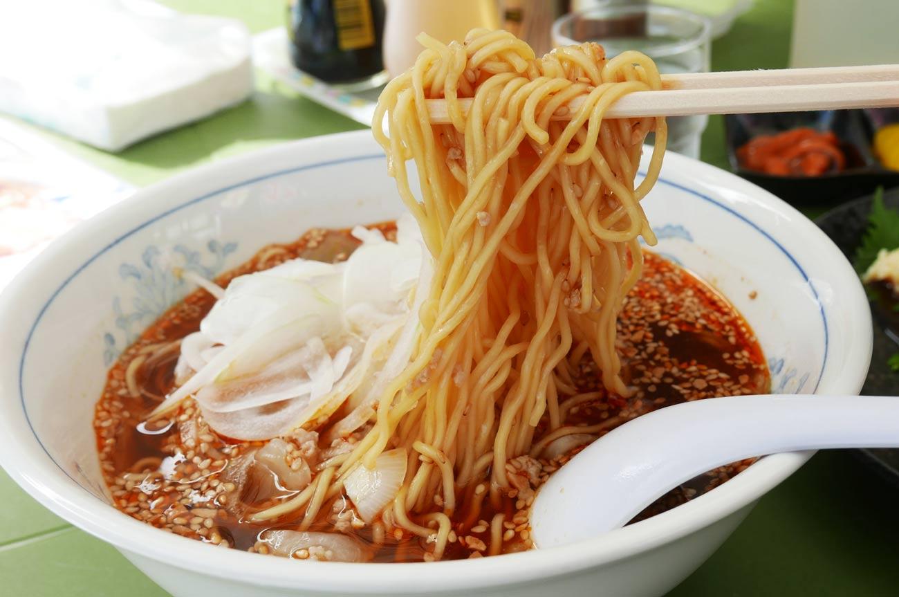 御食事処いしいの勝浦タンタンメンの画像