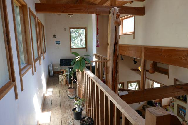 earth tree cafeの2階席